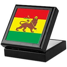 Ethiopia Flag 1897 Keepsake Box