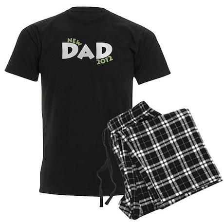 New Dad 2012 Men's Dark Pajamas