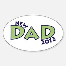 New Dad 2012 Decal