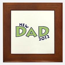 New Dad 2012 Framed Tile