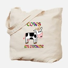 Awesome Cows Tote Bag