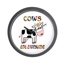 Awesome Cows Wall Clock