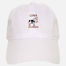 Awesome Cows Baseball Baseball Cap