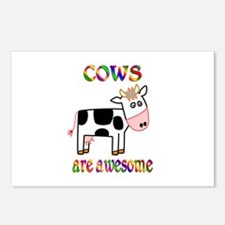 Awesome Cows Postcards (Package of 8)