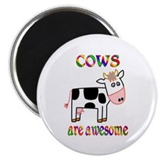"""Awesome Cows 2.25"""" Magnet (10 pack)"""