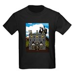 Medieval Knights & Castle Kids Dark T-Shirt