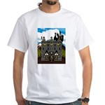 Medieval Knights & Castle White T-Shirt