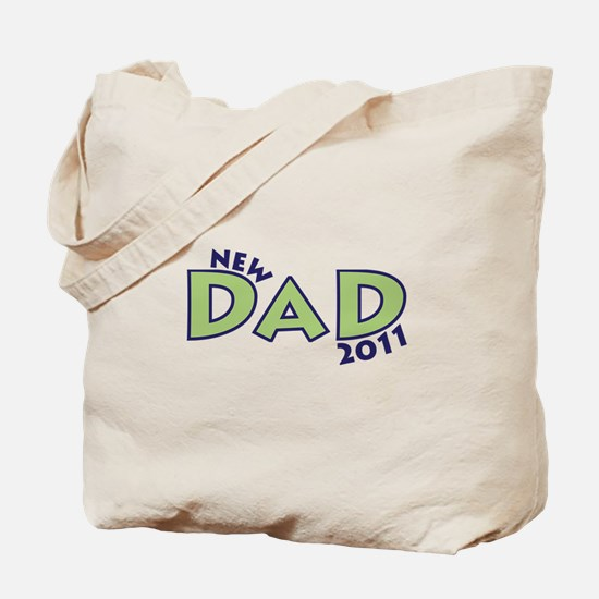 New Dad 2011 Tote Bag