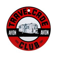 Avion Travelcade Club Roundel Ornament (Round)