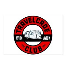 Avion Travelcade Club Roundel Postcards (Package o