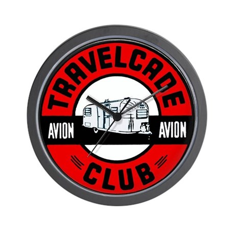 Avion Travelcade Club Roundel Wall Clock