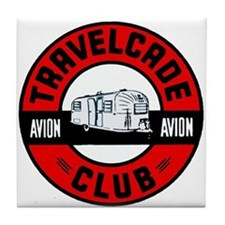 Avion Travelcade Club Roundel Tile Coaster