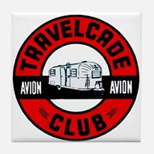 Avion Travelcade Club Roundel Tile Coaster