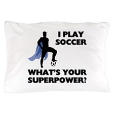 Soccer Superhero Pillow Case