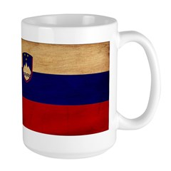 Slovenia Flag Large Mug