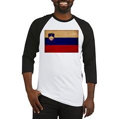 Slovenia Flag Baseball Jersey
