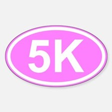 Pink 5K Decal