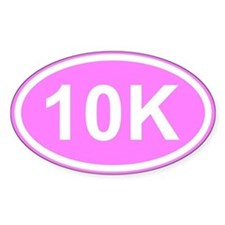 Pink 10K Decal