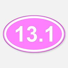 Pink 13.1 Half Marathon Decal