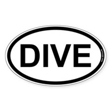 DIVE - Diver Decal