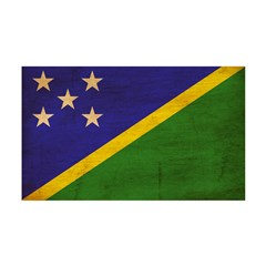 Solomon Islands Flag 38.5 x 24.5 Wall Peel