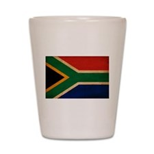 South Africa Flag Shot Glass