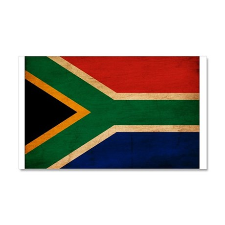 South Africa Flag Car Magnet 20 x 12