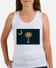 South Carolina Flag Women's Tank Top