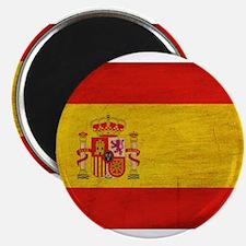 """Spain Flag 2.25"""" Magnet (10 pack)"""