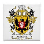 Van Laren Coat of Arms Tile Coaster