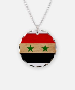 Syria Flag Necklace