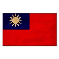 Taiwan Flag Decal