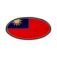 Taiwan Flag Patches