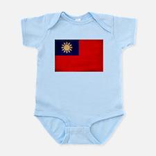 Taiwan Flag Infant Bodysuit