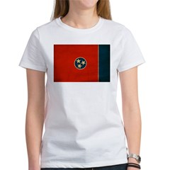 Tennessee Flag Women's T-Shirt