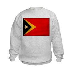 Timor Leste Flag Sweatshirt
