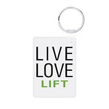 Live Love Lift Keychains