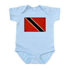 Trinidad and Tobago Flag Infant Bodysuit