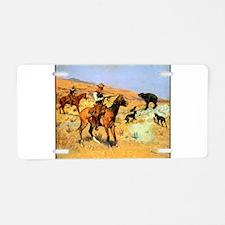 Best Seller Wild West Aluminum License Plate