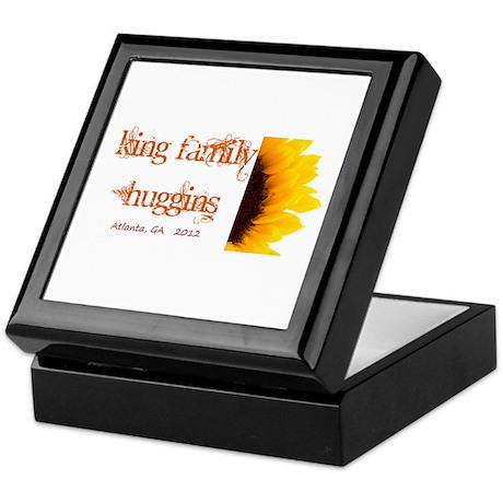 Sunflower Logo Keepsake Box