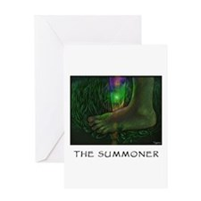 The Summoner Greeting Card