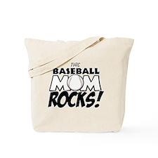 This Baseball Mom Rocks Tote Bag