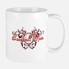 Baseball Mom (heart) Mug