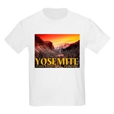 Yosemite National Park Kids T-Shirt