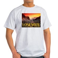 Yosemite National Park Ash Grey T-Shirt