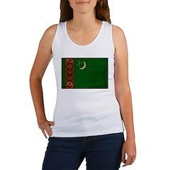 Turkmenistan Flag Women's Tank Top