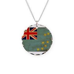 Tuvalu Flag Necklace