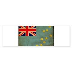 Tuvalu Flag Bumper Sticker