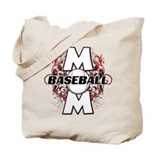 Baseball Mom (cross) Tote Bag