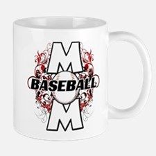 Baseball Mom (cross) Mug